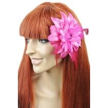 Haarbloem/Broche Roze
