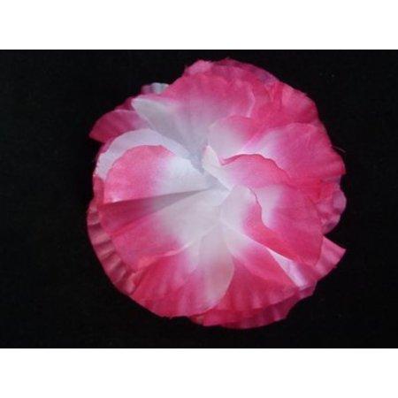 Hawaii haarboem op kam Roze/Wit