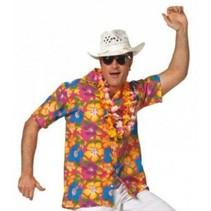 Hawaii blouse heer pink