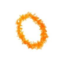 Hawaii krans DeLuxe Oranje