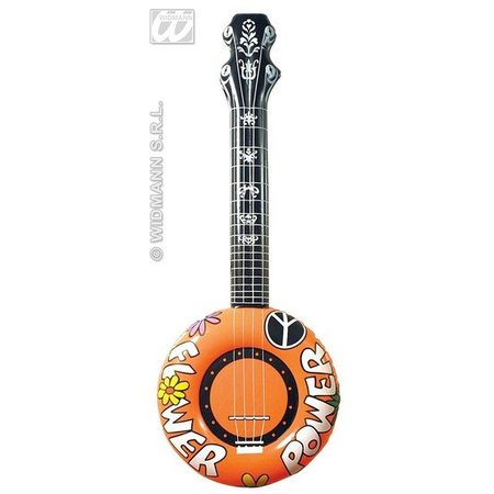 Opblaasbare Flower Power Banjo