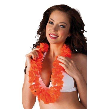 Hawaiislinger oranje Lei Ohana