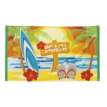 Hawaii beach vlag