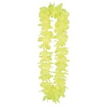 Hawaii krans neon geel