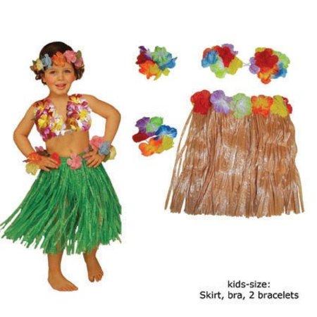 Hawaii verkleedsetje kind