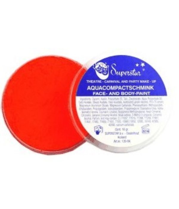Aqua compact schmink oranje 16gr nr.33