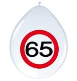 Ballonnnen verkeersbord 65 (8 st)