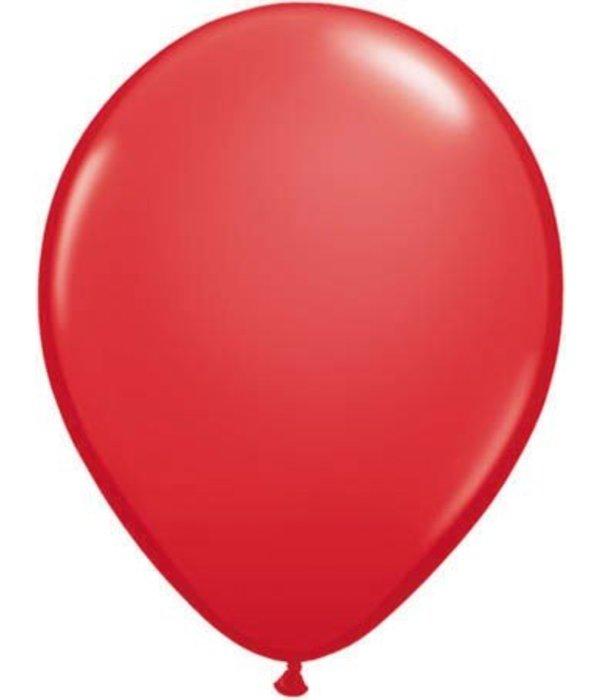Ballonnen rood 30cm 10 stuks