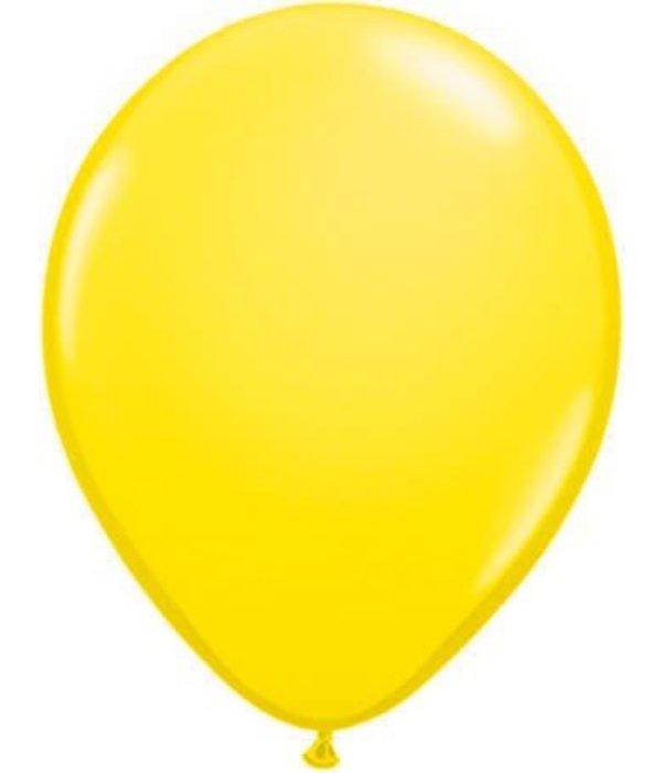 Ballonnen geel 30cm 10 stuks
