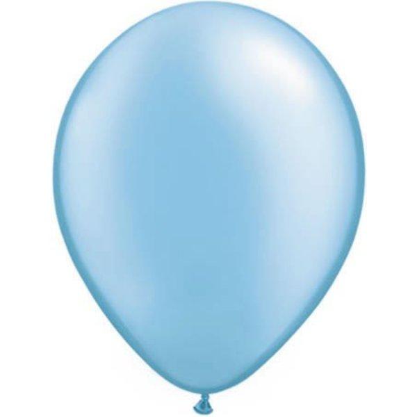 Ballonnen lichtblauw 30cm 10 stuks