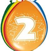 Ballonnen '2' (8 st)