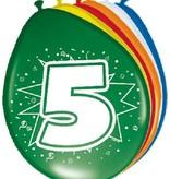 Ballonnen '5' (8 st)