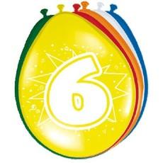 Ballonnen '6' (8 st)