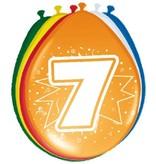 Ballonnen '7' (8 st)