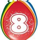 Ballonnen '8' (8 st)