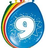 Ballonnen '9' (8 st)