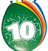 Ballonnen '10' (8 st)
