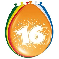 Ballonnen '16' (8 st)
