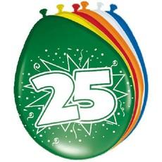 Ballonnen '25' (8 st)