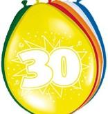 Ballonnen '30' (8 st)