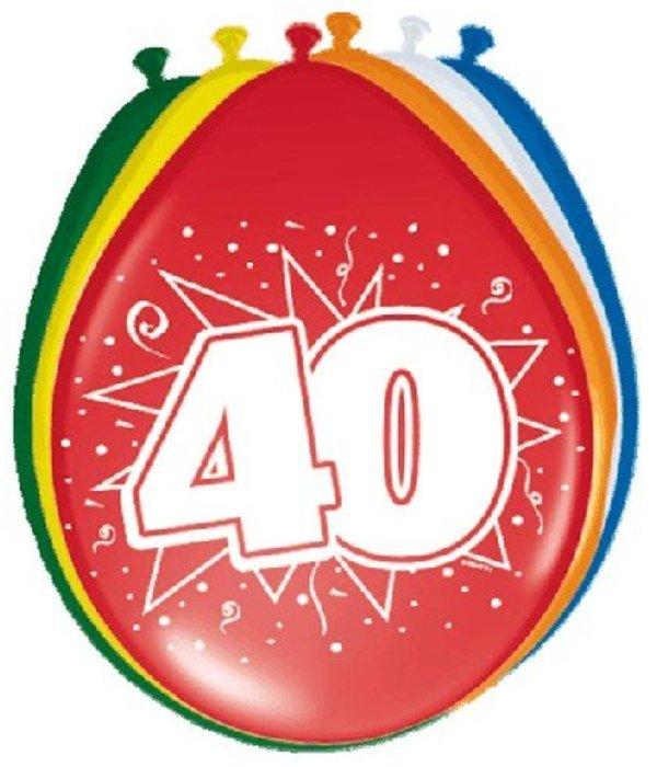 Ballonnen '40' (8 st)