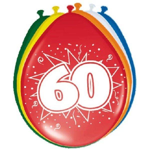 Ballonnen '60' (8 st)