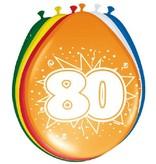 Ballonnen '80' (8 st)