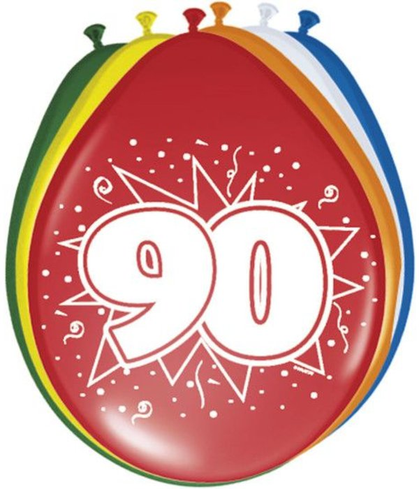 Ballonnen '90' (8 st)