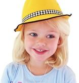 Hoed kind geel