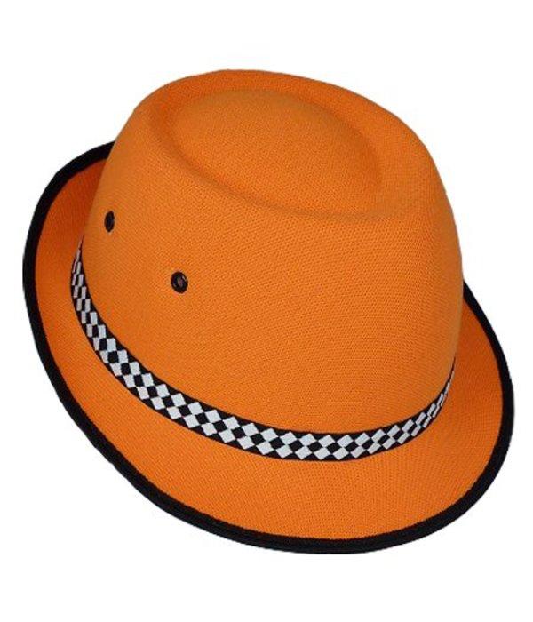 Hoed kind oranje