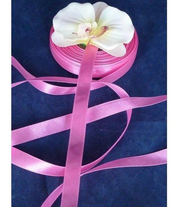 Satijnlint oud roze