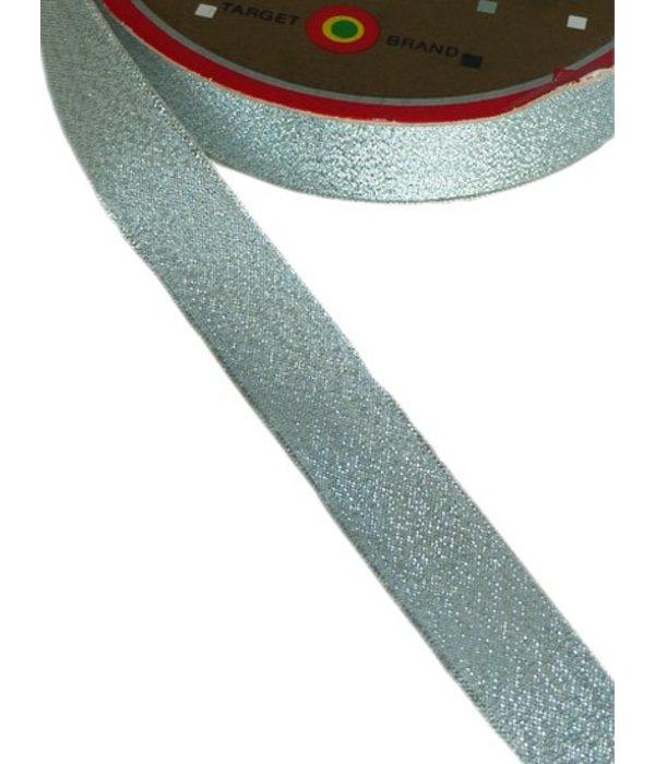 Lint metallic zilver