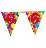 Vlaggenlijn leeftijd '6'