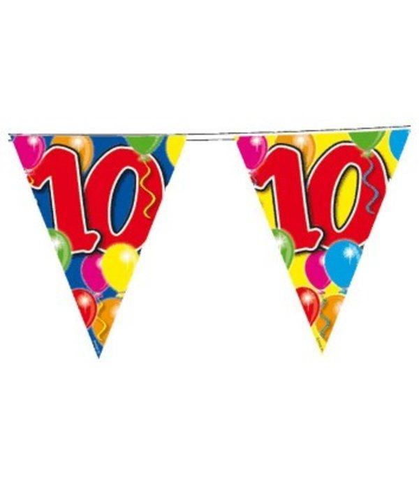 Vlaggenlijn leeftijd '10'