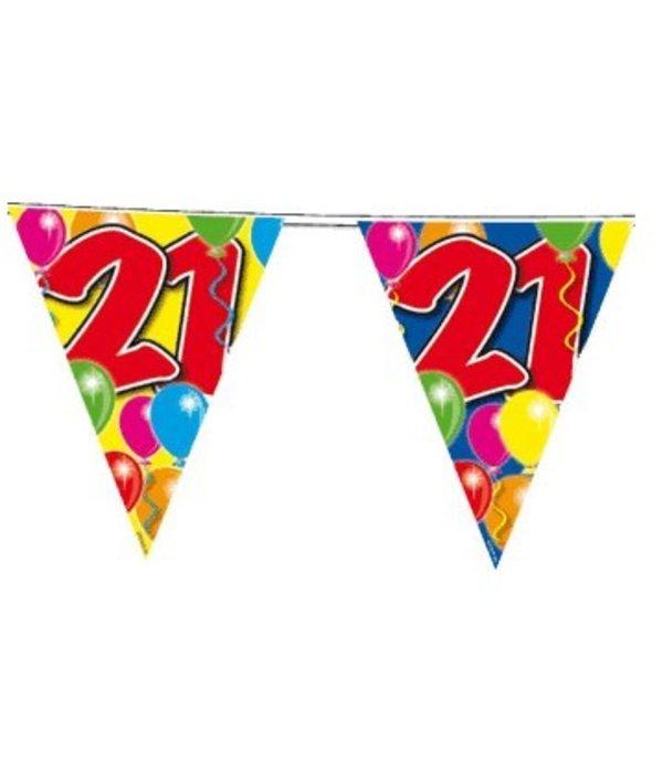 Vlaggenlijn leeftijd '21'