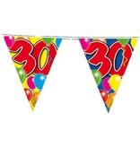 Vlaggenlijn leeftijd '30'