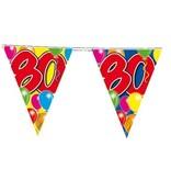 Vlaggenlijn leeftijd '80'