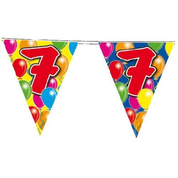 Vlaggenlijn leeftijd '7'