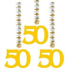 Hangdecoratie 50-jarig huwelijk