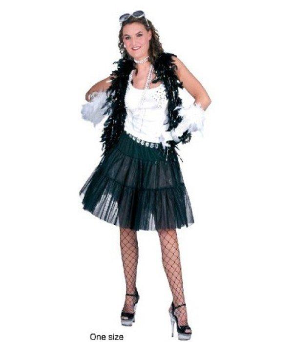 Petticoat zwart basic