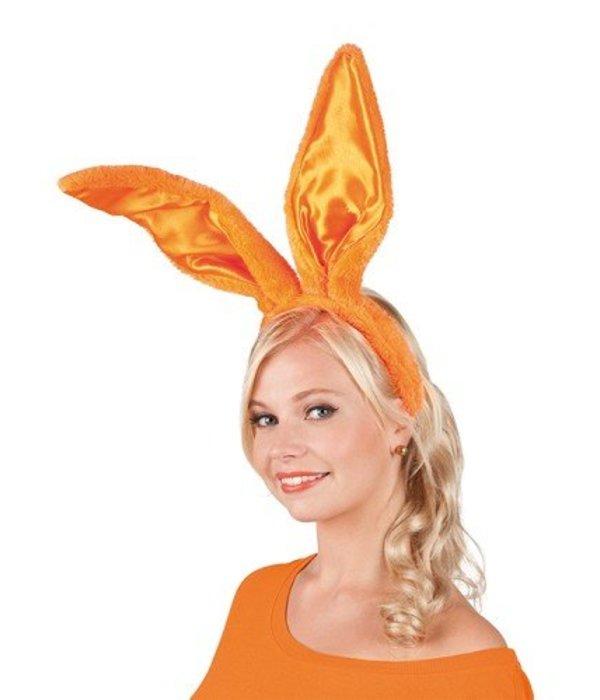 Konijnenoren diadeem oranje