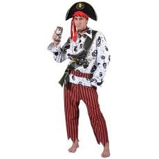 Carnavalskostuum: Piratenpak 5-delig Brett