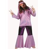 Hippie kostuum 3-delig Dusk