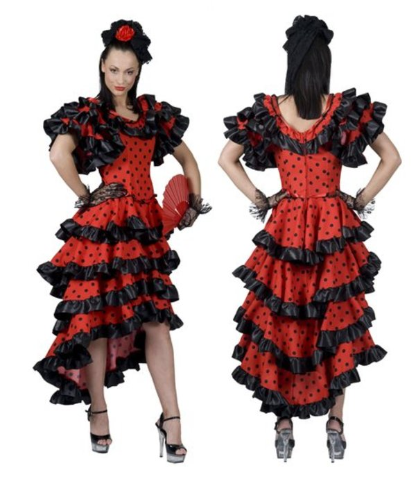 Spaanse Lady jurk Alessandra