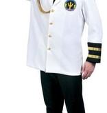 Kapiteinsjas Deluxe wit