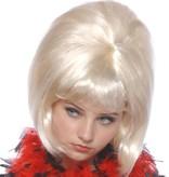 Pruik sixties blond