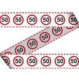 Afzetlint Verkeersbord 50