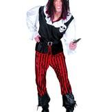 Piratenpak man 4-delig