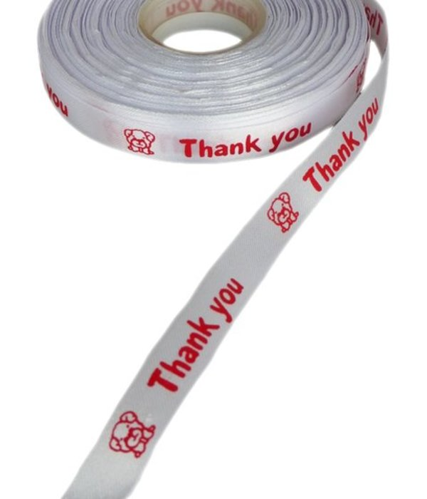 Satijnlint 'Thank you'