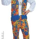 Carnavalskleding Hippy kostuum man Earth
